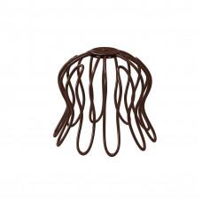 Сетка «паук» для воронки Aquasystem Pural 100 мм RAL 8017 (шоколадно-коричневый)