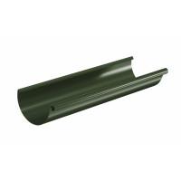 Желоб водосточный полукруглый Aquasystem Pural 125 мм RR 11 (темно-зеленый) 3 м