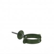Кронштейн трубы на кирпич Aquasystem Pural 90 мм RR 11 (темно-зеленый)
