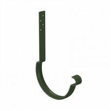 Крюк желоба длинный усиленный L-250 мм Aquasystem Pural D125 мм RR 11 (темно-зеленый)