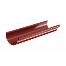 Желоб водосточный полукруглый Aquasystem Pural 125 мм RR 29 (красный) 3 м