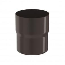 Соединитель трубы Aquasystem Pural 90 мм RR 32 (темно-коричневый)