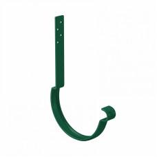 Крюк желоба длинный усиленный L-250 мм Aquasystem Pural D125 мм RAL 6005 (зеленый мох)