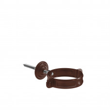Кронштейн трубы на кирпич Aquasystem Pural 90 мм RAL 8017 (шоколадно-коричневый)