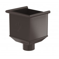 Воронка водосборная Aquasystem Pural MATT 125/90 мм RR 32 (темно-коричневый)