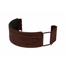 Соединитель желоба Aquasystem Pural MATT 150 мм RAL 8017 (шоколадно-коричневый)