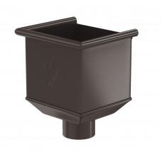 Воронка водосборная Aquasystem Pural MATT 150/100 мм RR 32 (темно-коричневый)