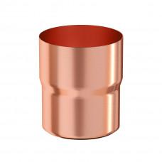 Соединитель трубы Aquasystem Медь 100 мм