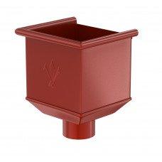 Воронка водосборная Aquasystem Pural 150/100 мм RR 29 (красный)