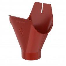 Воронка желоба Aquasystem Pural 150/100 мм RR 29 (красный)