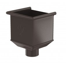 Воронка водосборная Aquasystem Pural 150/100 мм RR 32 (темно-коричневый)