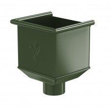 Воронка водосборная Aquasystem Pural 125/90 мм RR 11 (темно-зеленый)