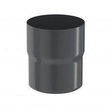 Соединитель трубы Aquasystem Pural 90 мм RR 23 (серый)