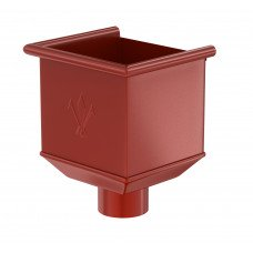 Воронка водосборная Aquasystem Pural 125/90 мм RR 29 (красный)