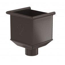 Воронка водосборная Aquasystem Pural 125/90 мм RR 32 (темно-коричневый)
