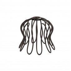 Сетка «паук» для воронки Aquasystem Pural MATT 100 мм RAL 8017 (шоколадно-коричневый)