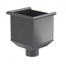 Воронка водосборная Aquasystem Pural MATT 150/100 мм RR 23 (серый)