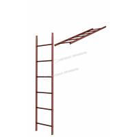 Кровельная/фасадная лестница Металл Профиль L-1,86 м (без кронштейнов) RAL 3011
