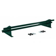 Снегозадержатель универсальный трубчатый Grand Line Optima 1 м RAL 6005 зеленый