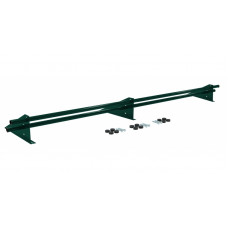 Снегозадержатель универсальный трубчатый Grand Line Optima 3 м RAL 6005 зеленый