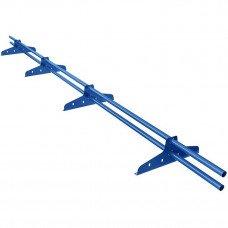 Снегозадержатель трубчатый круглый Borge New Line D-25 мм 3 м RAL 5005 синий