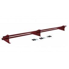 Снегозадержатель универсальный трубчатый Grand Line Optima 3 м RAL 3011 коричнево-красный