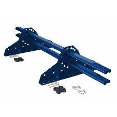 Снегозадержатель трубчатый овальный Grand Line NEW 1 м RAL 5005 синий