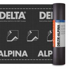 Гидроизоляционная диффузионная мембрана Delta ALPINA (45м2)