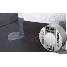 Односторонняя соединительная лента для примыканий паро и гидроизоляции Delta FLEXX BAND F 100 (10 м.п.)