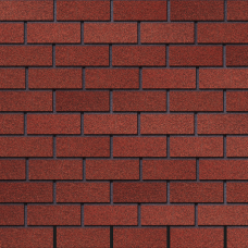 Битумная фасадная плитка Docke Premium Brick (Клубника)