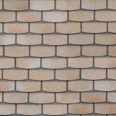 Битумная фасадная плитка Технониколь Hauberk Камень (Травертин)