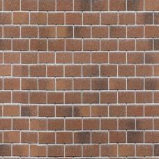 Битумная фасадная плитка Технониколь Hauberk Кирпич (Красный кирпич)