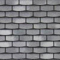 Битумная фасадная плитка Технониколь Hauberk Камень (Сланец)