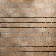 Битумная фасадная плитка Технониколь Hauberk Кирпич (Песчаный кирпич)