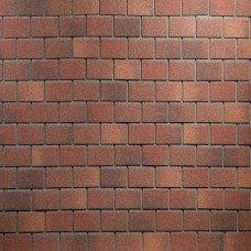 Битумная фасадная плитка Технониколь Hauberk Кирпич (Терракотовый кирпич)