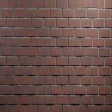 Битумная фасадная плитка Технониколь Hauberk Кирпич (Обожженный кирпич)