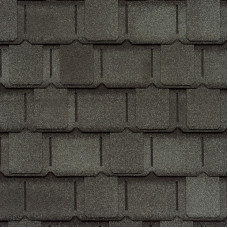 Мягкая кровля GAF Camelot II Antique Slate