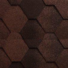 Мягкая кровля Icopal (Икопал) Антик Натурально-коричневый