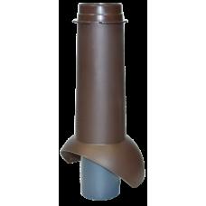 Канализационный выход изолированный Krovent Pipe-VT 110 IS мм Коричневый