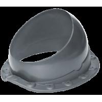 Проходной элемент Krovent BASE-VT WAVE 125/150 Серый
