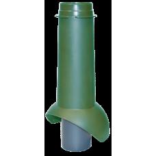 Канализационный выход изолированный Krovent Pipe-VT 110 IS мм Зеленый