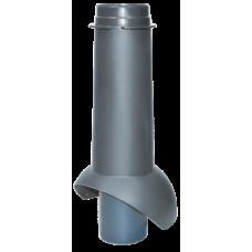 Канализационный выход изолированный Krovent Pipe-VT 110 IS мм Серый