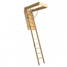 Деревянная чердачная лестница Docke DACHA 60*120*280 см