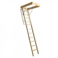 Деревянная чердачная лестница Docke PREMIUM 70*120*300 см