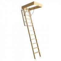 Деревянная чердачная лестница Docke LUX 70*120*300 см