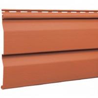 Сайдинг виниловый Mitten Sentry Корабельная доска (D 4,5) Burnt Orange