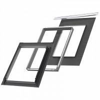 Оклад для мансардного окна Velux PREMIUM EDS 2000 (плоские материалы) 78х118 (MK06)