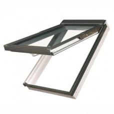 Мансардное окно ПВХ Fakro PPP-V U3 preSelect LUX (с комбинированным открыванием) 78х140