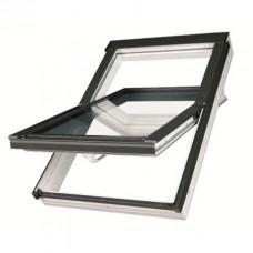 Мансардное окно ПВХ Fakro PTP U3 Profi 78х140