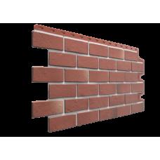 Фасадная панель под кирпич Docke-R Berg Рубиновый 0,44 м2